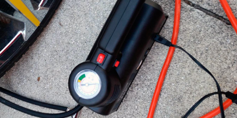 Detailed review of Kensun YS-205 Portable Air Compressor Tire Inflator