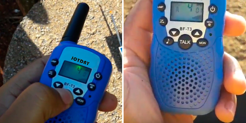 Review of Joyday BF-T3 Walkie Talkies with High Definition Sound