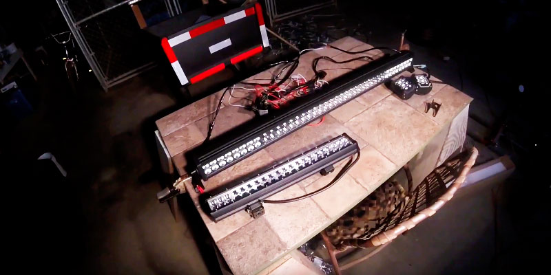 "Detailed review of Northpole Light 50"" LED Light Bar"
