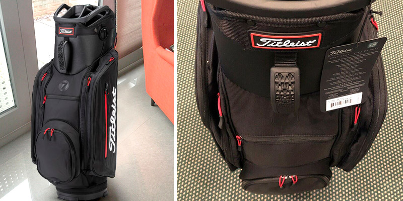 Review of Titleist Club 7 Golf Cart Bag