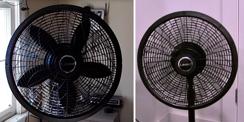 Lasko 1827 Elegance & Performance Pedestal Fan in the use