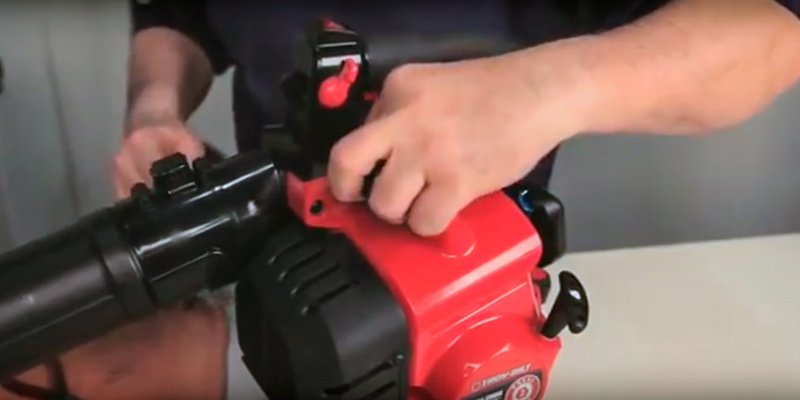 Detailed review of Troy-Bilt TB2BV JumpStart Technology and Vacuum Accessory