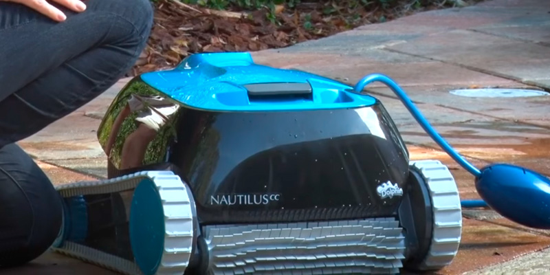 Review of Dolphin Nautilus CC Automatic Robotic Pool Cleaner