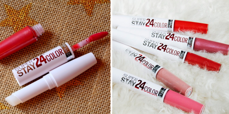 Review of Maybelline New York SuperStay 24 2-Step Liquid Lipstick