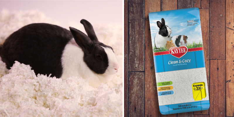 Review of Kaytee Clean & Cozy White Small Animal Bedding