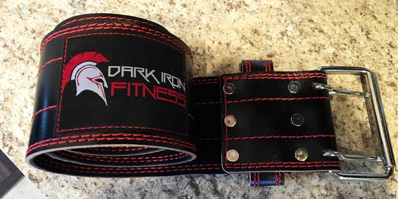 Review of Dark Iron Fitness Leather Pro Weight lifting Belt