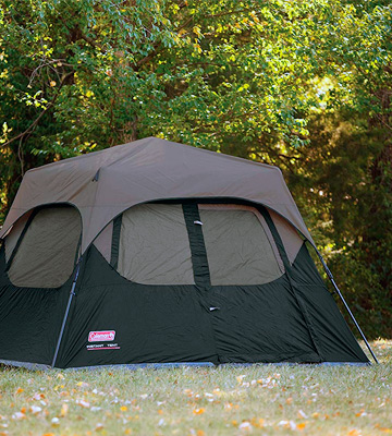 Review of Coleman Cabin Tent with Instant Setup