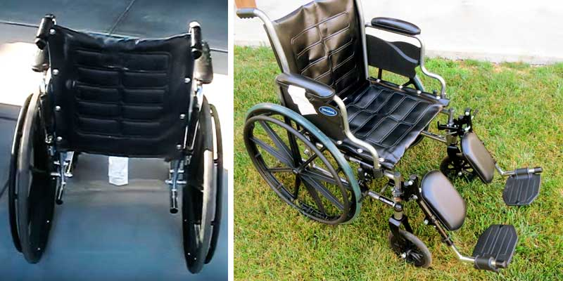 Review of Invacare LightWeight Tracer EX2 Wheelchair 20