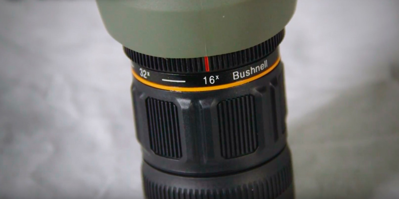 Bushnell Trophy Xtreme Spotting Scope in the use