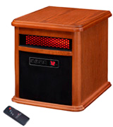 Duraflame 9HM9126-O142 Portable Electric Infrared Heater with Remote