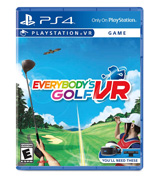 Sony Corporation Everybody's Golf VR for PlayStation 4