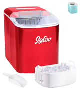 iGloo ICEB26RR Portable Automatic Ice Cube Maker