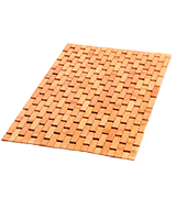 ZPirates 8541925938 Natural Bamboo Wood Bath Mat