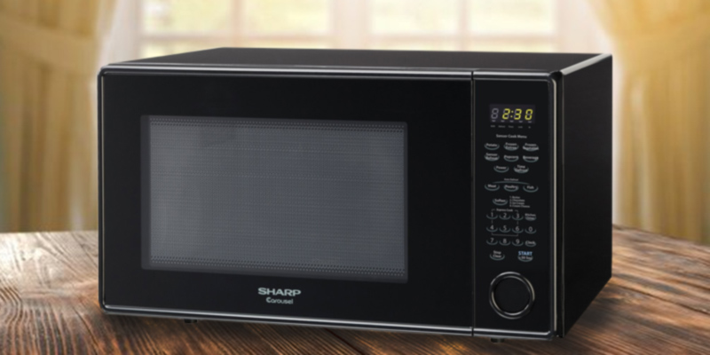 Detailed review of Sharp ZR559YK Countertop Microwave Oven