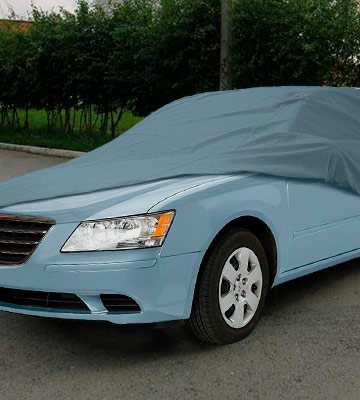 Review of Classic Accessories 10-010-05100 OverDrive Full Size Sedan Car Cover