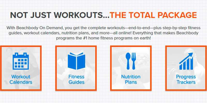 Beachbody Diet&Fitness Complete package in the use