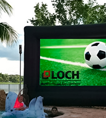 Review of LOCH IWS200 Inflatable Projection Screen