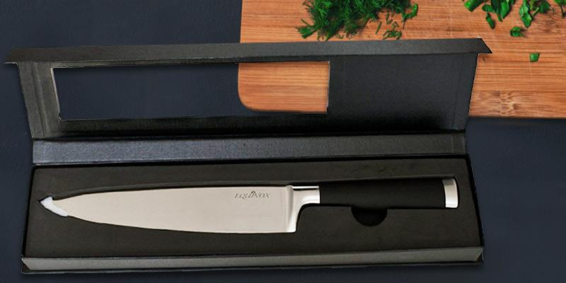 Equinox Professional 8.75-Inch Chef's Knife in the use