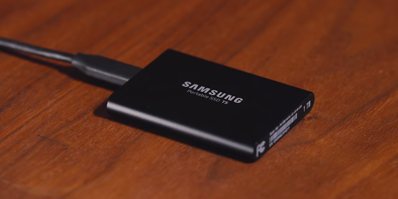 Review of Samsung T5 External SSD — USB 3.1 Type-C