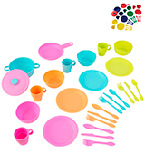 KidKraft Bright Cookware Set