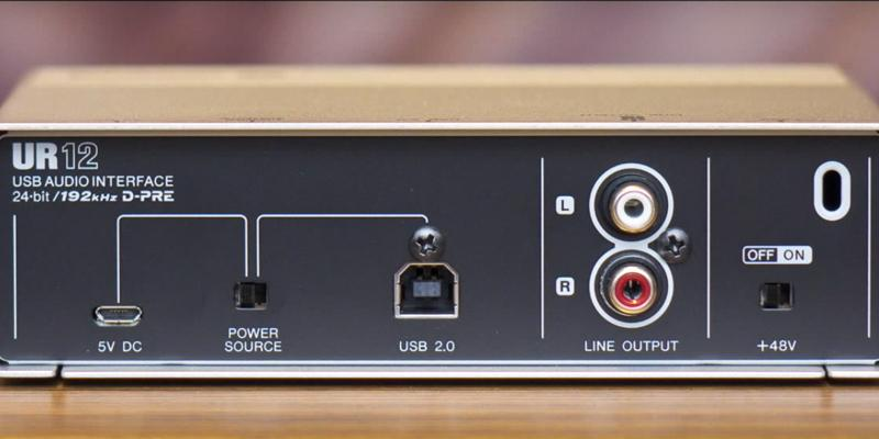 Detailed review of Steinberg UR12 Audio Interface