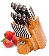 Chicago Cutlery Fusion 1119644 18-Piece Block Set