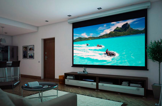 Comparison of Motorized Projector Screens
