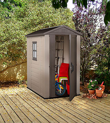 Review of Keter Resin Outdoor Backyard Garden Storage Shed