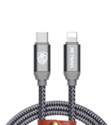 Metrans C-LN-3FT-SG USB C to Lightning Cable