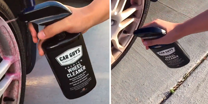 Review of CarGuys Wheel Сleaner and Tire - Safe for all Wheels and Rims