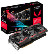 ASUS RX Vega 64 8GB Overclocked 2048-Bit HBM2 PCI Express 3.0 HDCP Ready Video Card