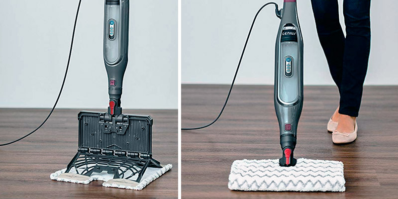 Shark S5003D Genius Steam Pocket Mop System in the use