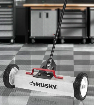 Review of Husky 96397 18 Magnetic Sweeper Pickup Tool