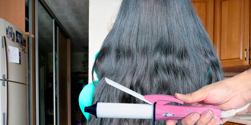 Review of Vivid & Vogue Mini Hair Curling Iron Travel, Ceramic