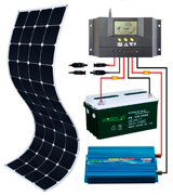 KINGSOLAR Semi Flexible Solar Panel
