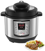 Instant Pot LUX-MINI 3 Qt 6-in-1 Multi- Use Programmable Pressure Cooker