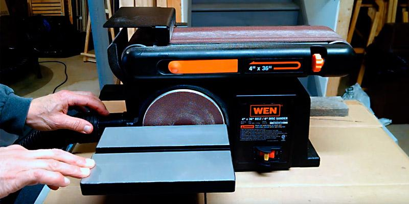 Review of WEN 6502 Belt and Disc Sander