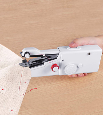 Review of W-Dragon Handheld Sewing Machine Cordless Handheld Electric Sewing Machine