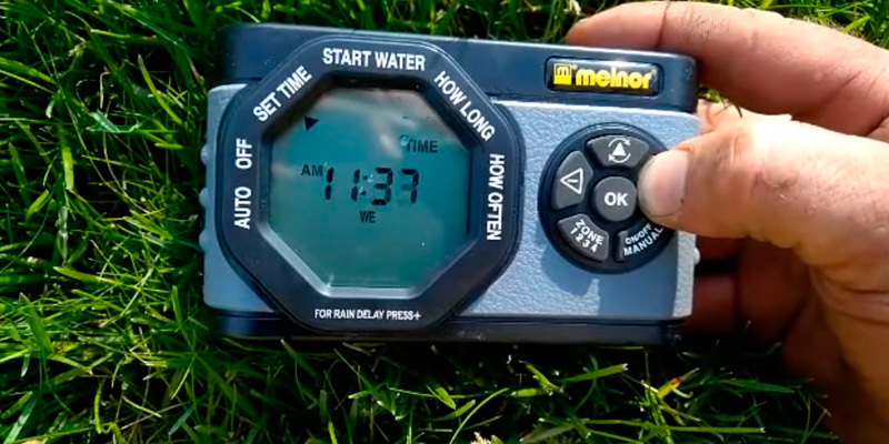 Review of Melnor 53280 4-Outlet Digital Water Timer