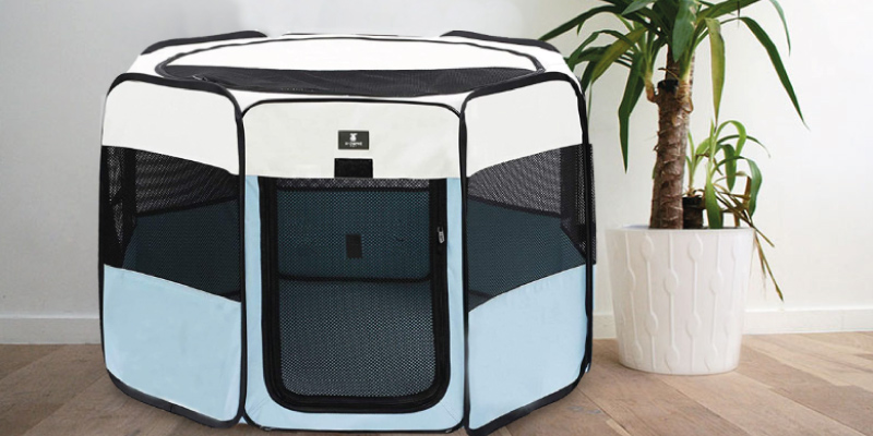 Review of X-ZONE PET Foldable Cloth Pet Crates