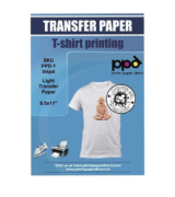Photo Paper Direct 20-Pack Iron-On Transfers Paper