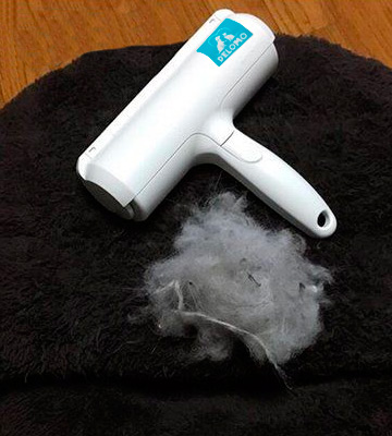 Review of DELOMO Pet Hair Remover Roller Dog & Cat Fur Remover
