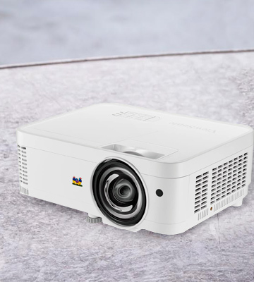 Review of ViewSonic PS501X Short Throw Projector
