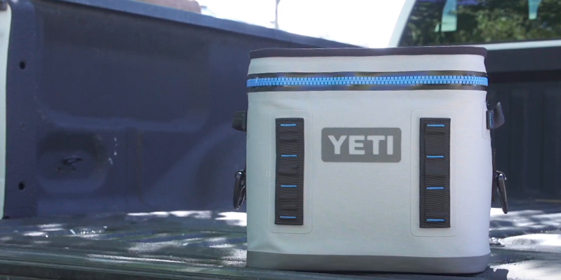 YETI Hopper Flip 12 Portable Cooler in the use
