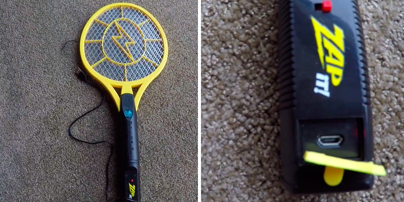 Review of ZAP IT! Mini Fly Killer and Bug Zapper Racket