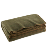 Ever Ready First Aid Fire Retardent Blanket Olive Drab Green Warm Wool