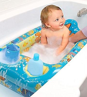 Review of Disney Pixar Finding Nemo Inflatable Safety Bathtub