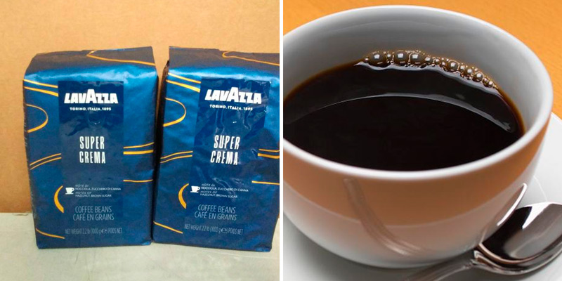 Review of Lavazza Super Crema Whole Bean Coffee Blend, Medium Espresso Roast