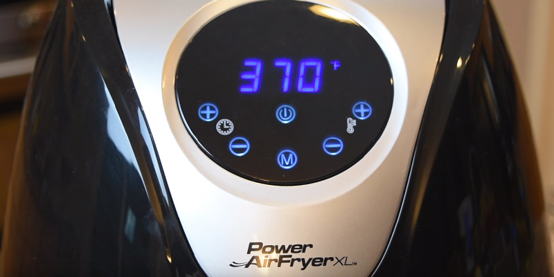 Detailed review of Power Air Fryer XL 3.4 QT Deluxe, Black Air Fryer