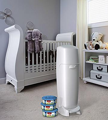 Review of Playtex Diaper Genie Diaper Pail with Odor Lock Technology